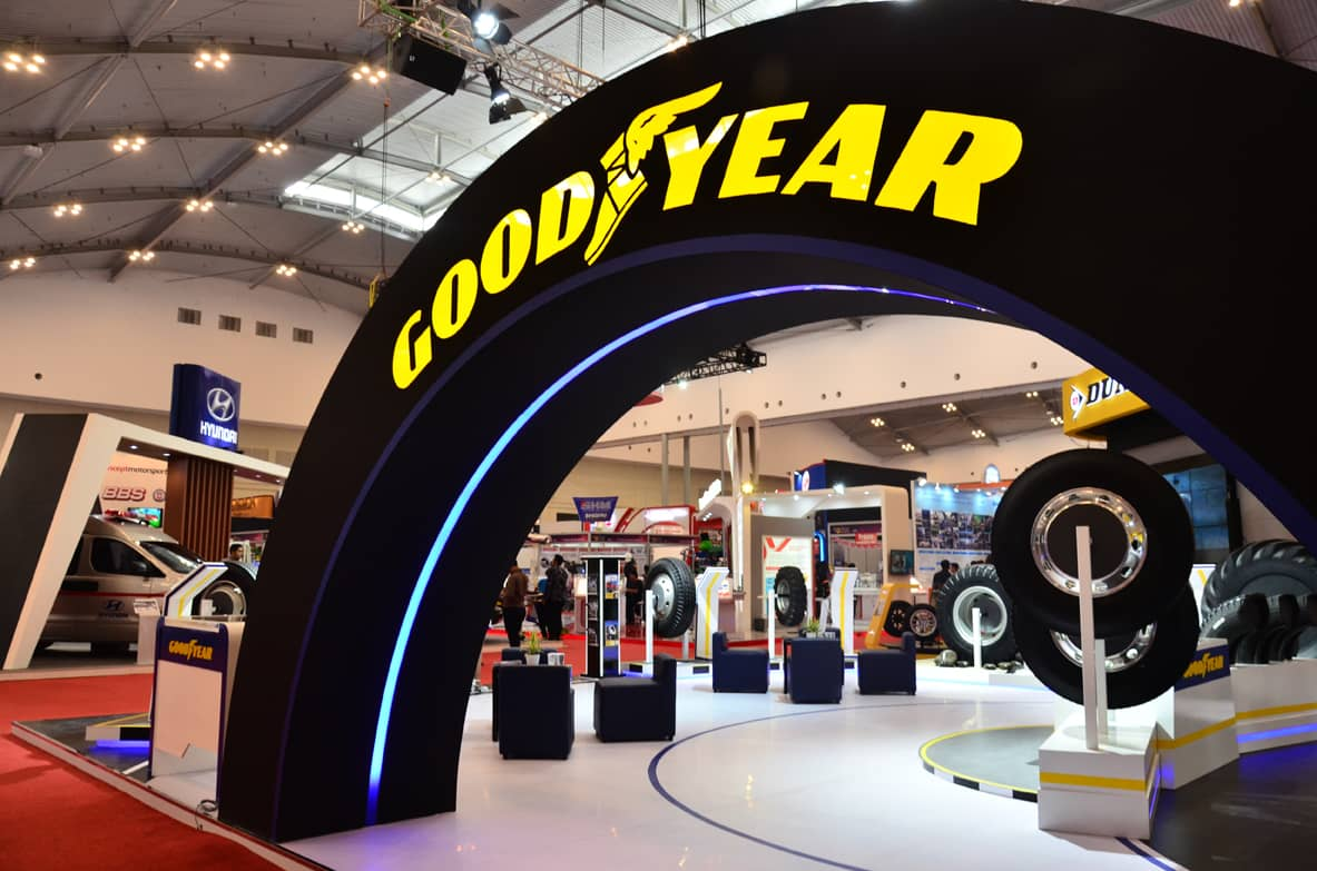 gooodyear booth GIIAS 2016